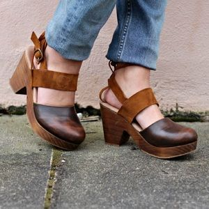 Free People Belmont Clogs